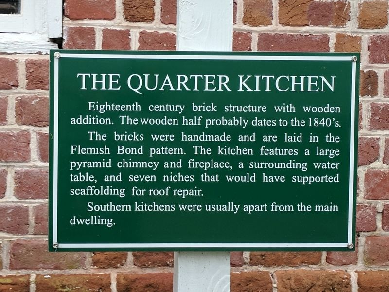 The Quarter Kitchen Marker image. Click for full size.