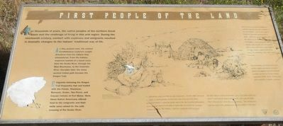 First People of the Land Marker image. Click for full size.