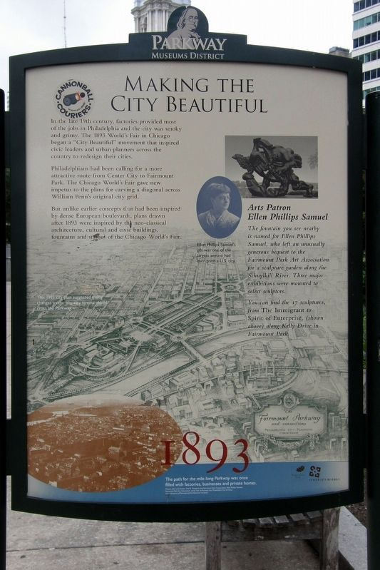Making The City Beautiful Marker image. Click for full size.