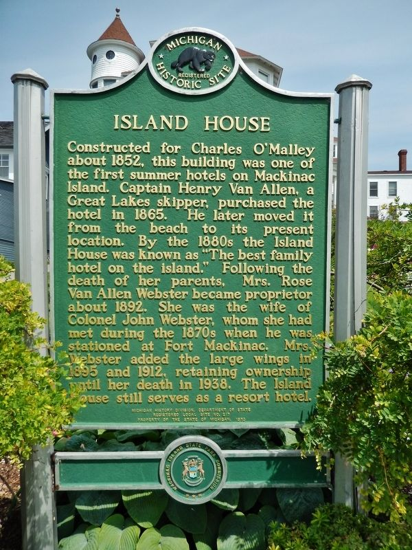Island House Marker image. Click for full size.