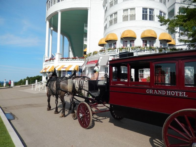 Grand Hotel Horse Carriage image. Click for full size.