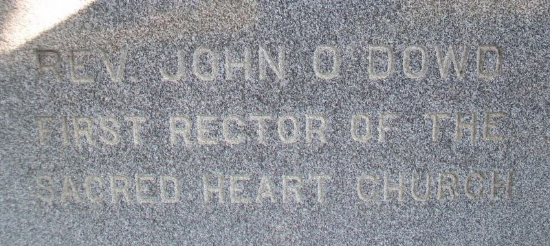 Rev. John O'Dowd Marker image. Click for full size.
