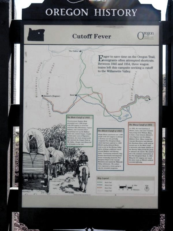 Cutoff Fever Marker image. Click for full size.
