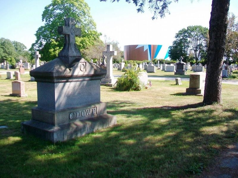 Rev. John O'Dowd Monument image. Click for full size.