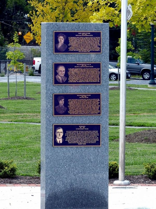 William Preston Lane, Jr. Marker image. Click for full size.