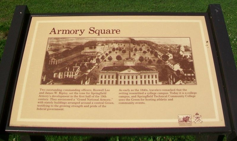 Armory Square Marker image. Click for full size.