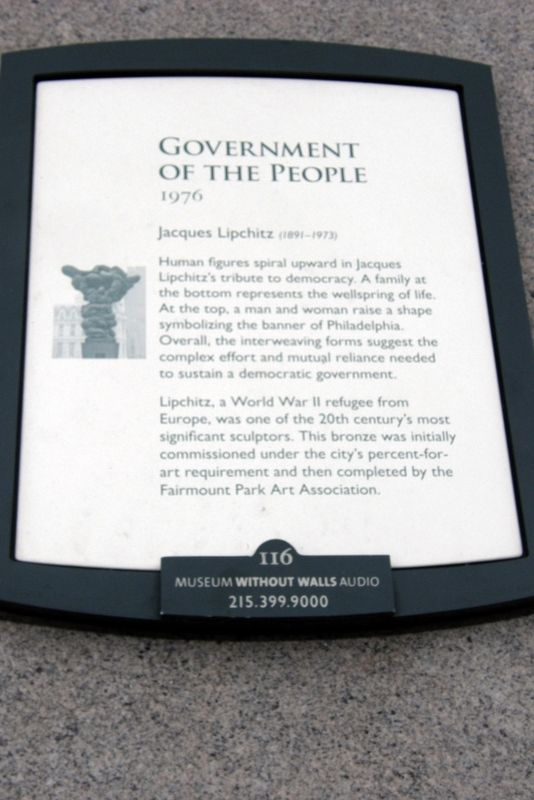 Government Of The People Marker image. Click for full size.