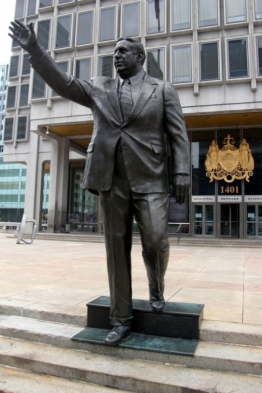"Also at the Municipal Building, ""Frank Rizzo"" image. Click for full size."