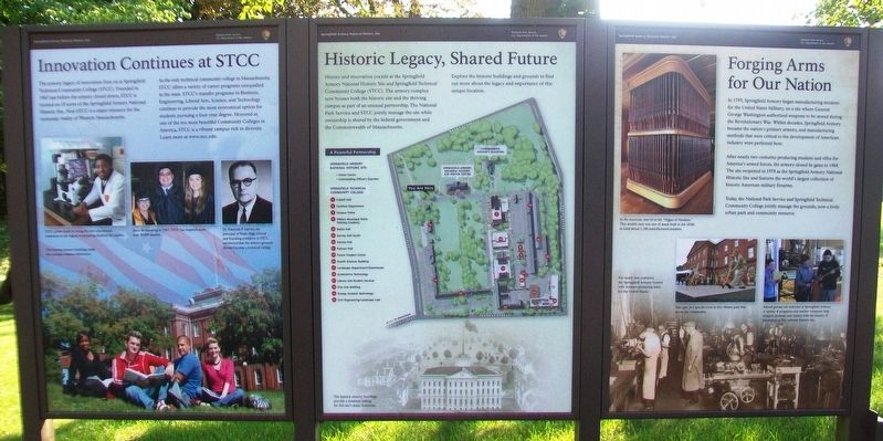 Innovation Continues at STCC and Historic Legacy, Shared Future Markers image. Click for full size.