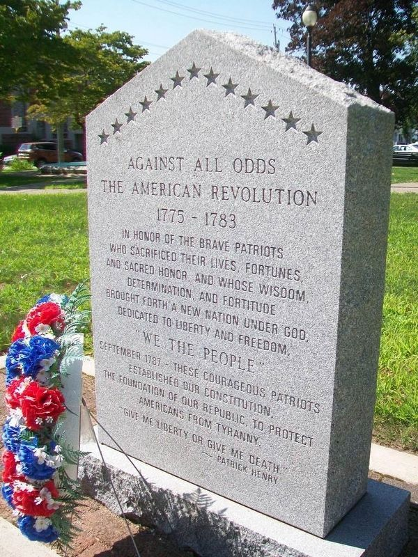 The American Revolution Monument image. Click for full size.