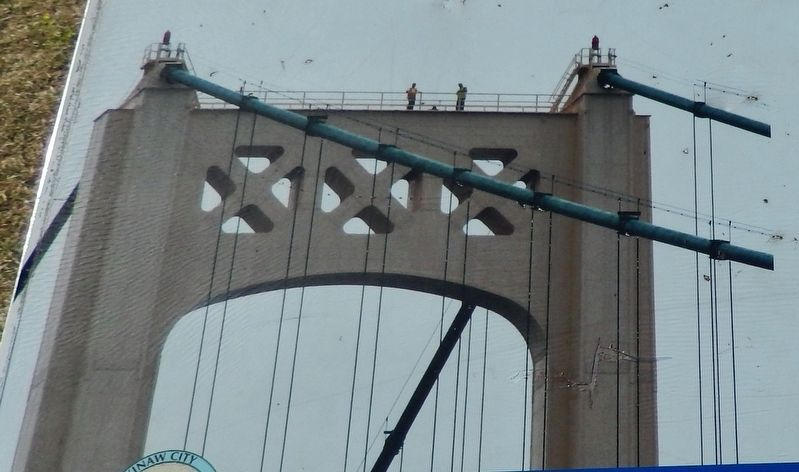 Building Mighty Mac Marker (<b><i>tower detail</b></i>) image. Click for full size.