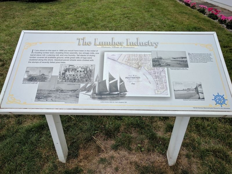 The Lumber Industry Marker image. Click for full size.