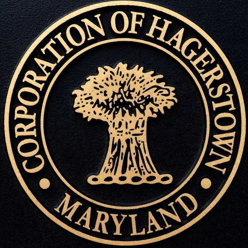 Corporation of Hagerstown Maryland image. Click for full size.