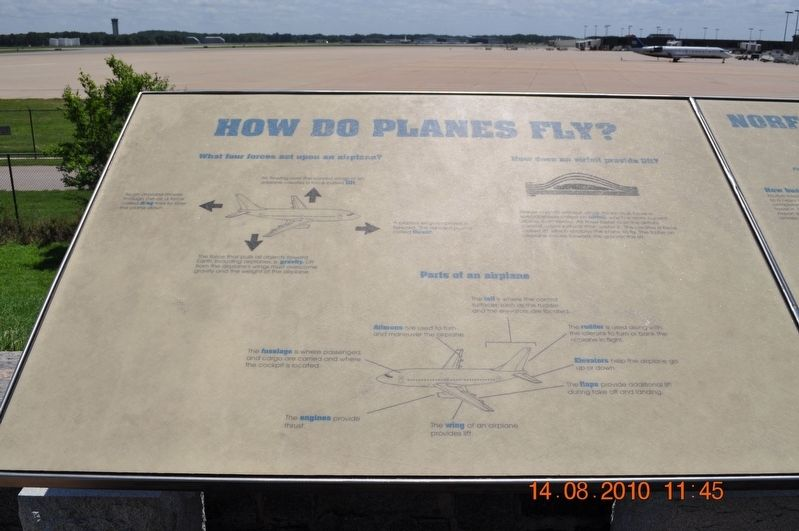 How do Planes Fly? Marker image. Click for full size.