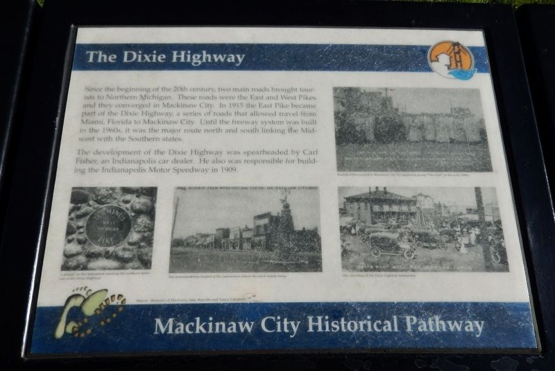 The Dixie Highway Marker image. Click for full size.