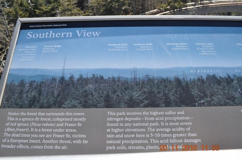 Southern View Marker image. Click for full size.