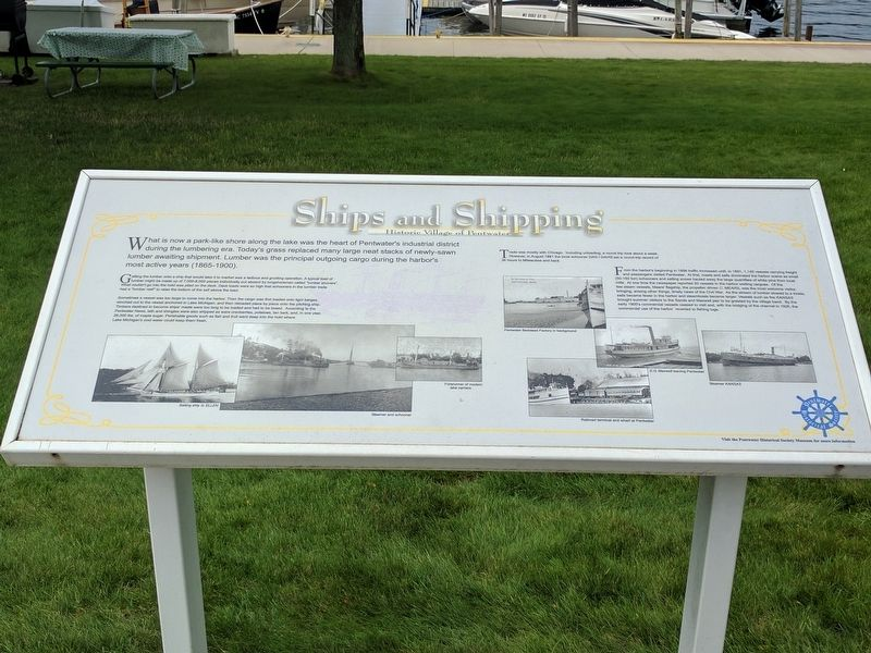Ships and Shipping Marker image. Click for full size.