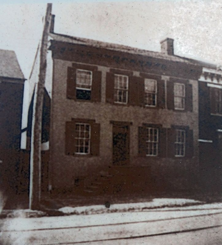19th Century Photograph of Mary Quantrill's Frederick Residence image. Click for full size.