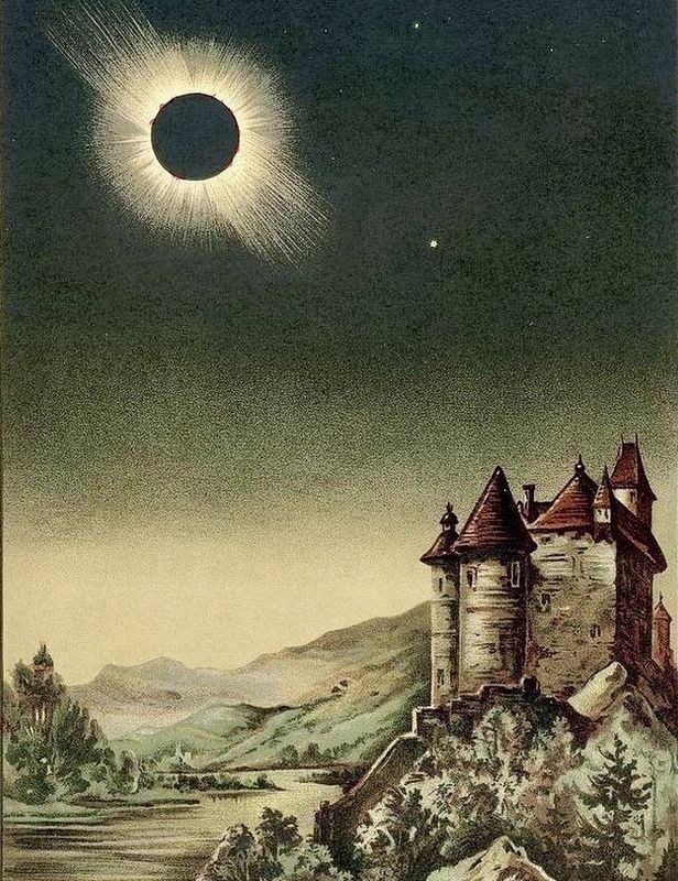 The Solar Eclipse of 1842 image. Click for full size.
