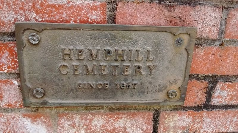 Hemphill Cemetery image. Click for full size.