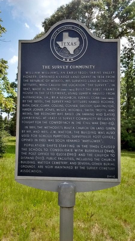 The Survey Community Marker image. Click for full size.