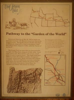 """Pathway to the ""Garden of the World"" Marker image. Click for full size."