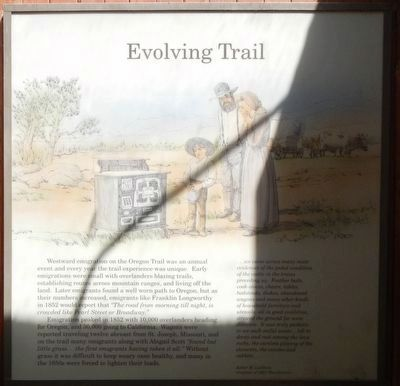 Evolving Trail Marker image. Click for full size.
