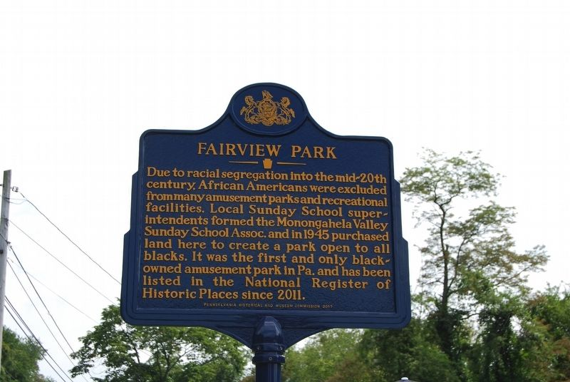Fairview Park Marker image. Click for full size.
