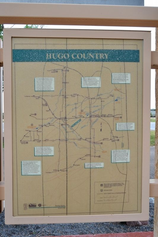 Hugo Country Marker image. Click for full size.