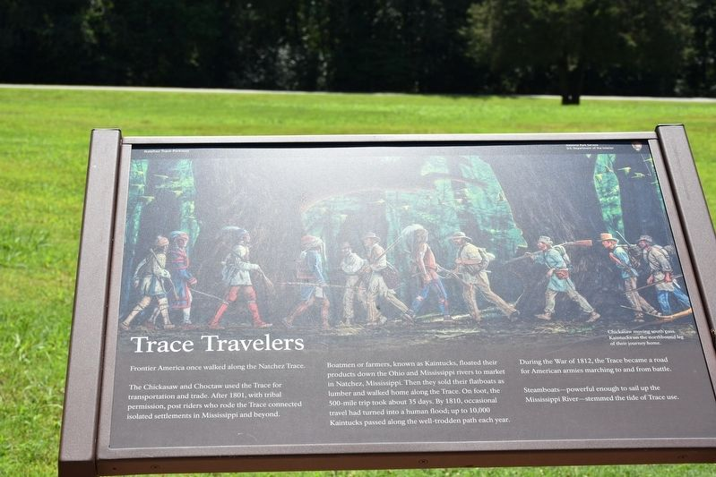 Trace Travelers Marker image. Click for full size.