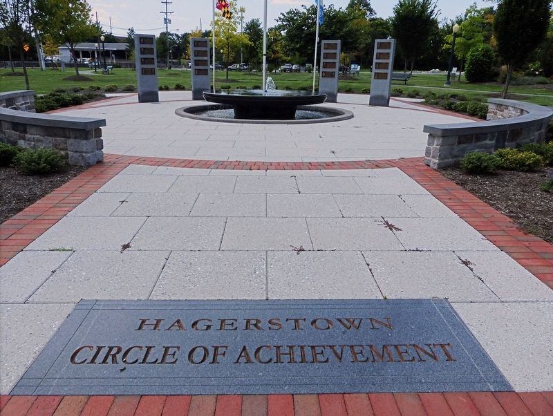Hagerstown Circle of Achievement image. Click for full size.