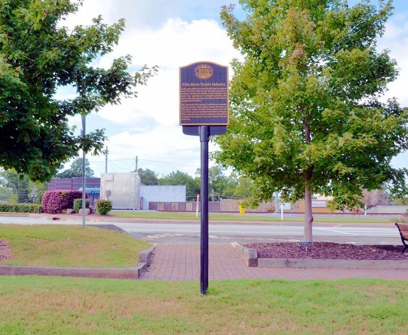 Villa Rica's Textile Industry Marker image. Click for full size.