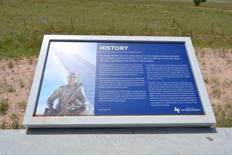 United States Air Force Academy Marker image. Click for full size.