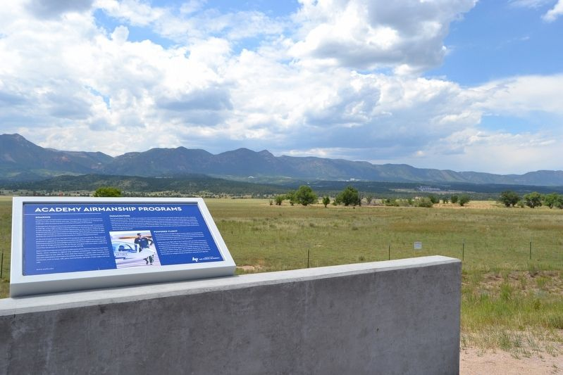 View towards US Air Force Academy image. Click for full size.