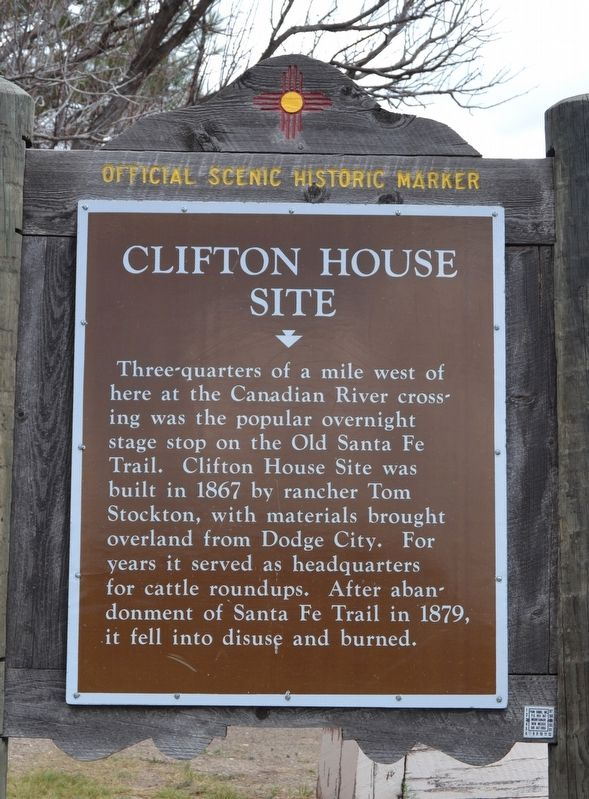 Clifton House Site Marker image. Click for full size.