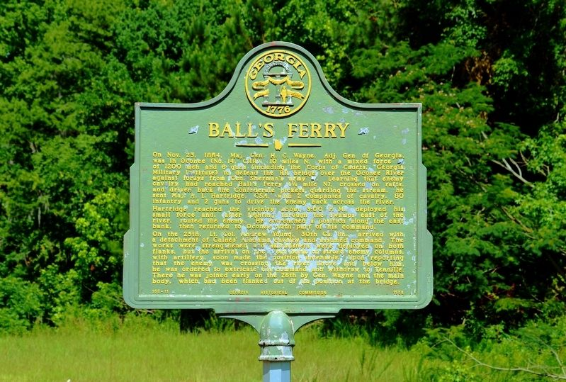 Ball's Ferry Marker image. Click for full size.