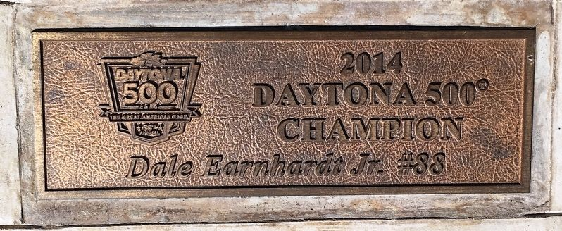 Daytona 500 2014 Winner Marker image. Click for full size.