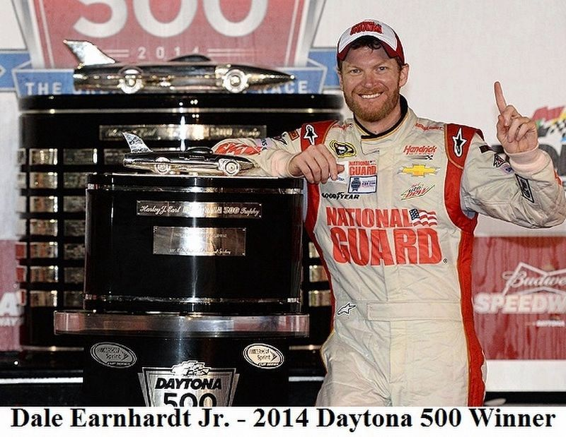 2014 Daytona 500 Walk of Fame Champion image. Click for full size.