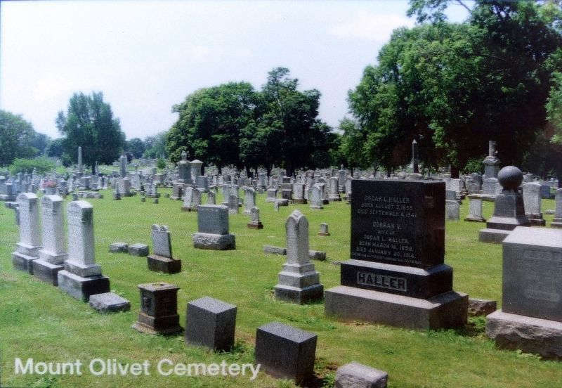 Mount Olivet Cemetery image. Click for full size.
