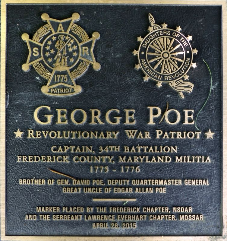 George Poe Marker image. Click for full size.