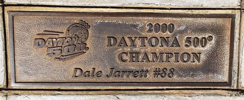 Daytona 500 2000 Winner Marker image. Click for full size.