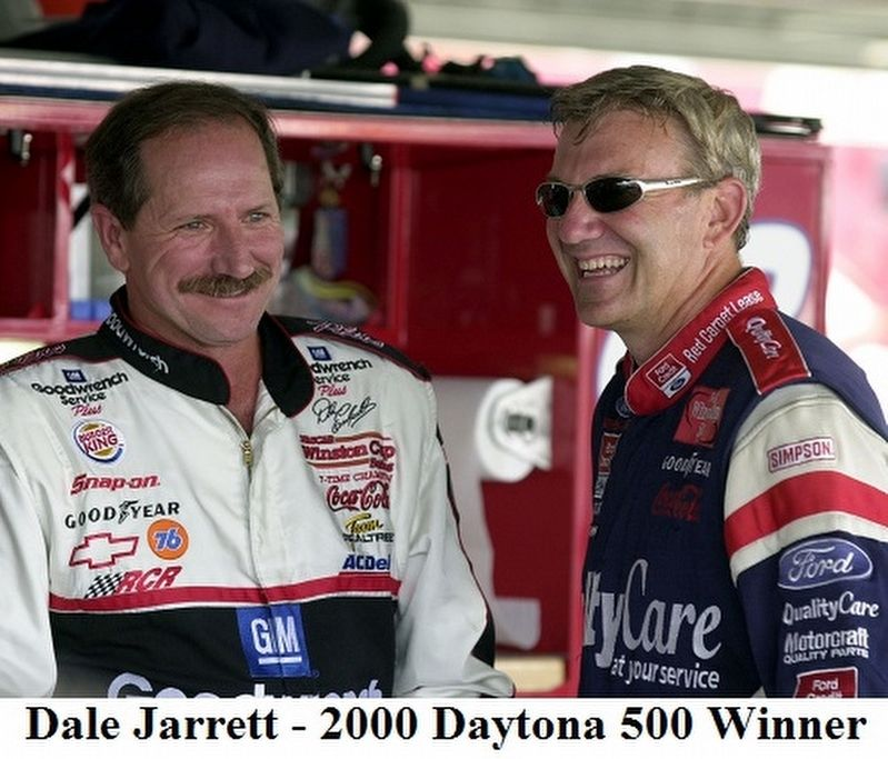2000 Daytona 500 Walk of Fame Champion image. Click for full size.