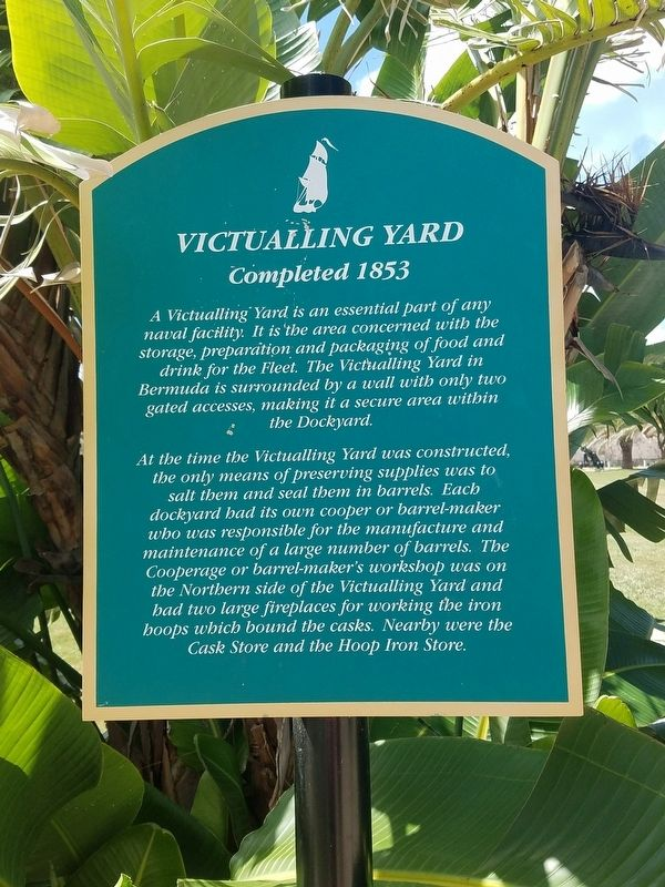 Victualling Yard Marker image. Click for full size.