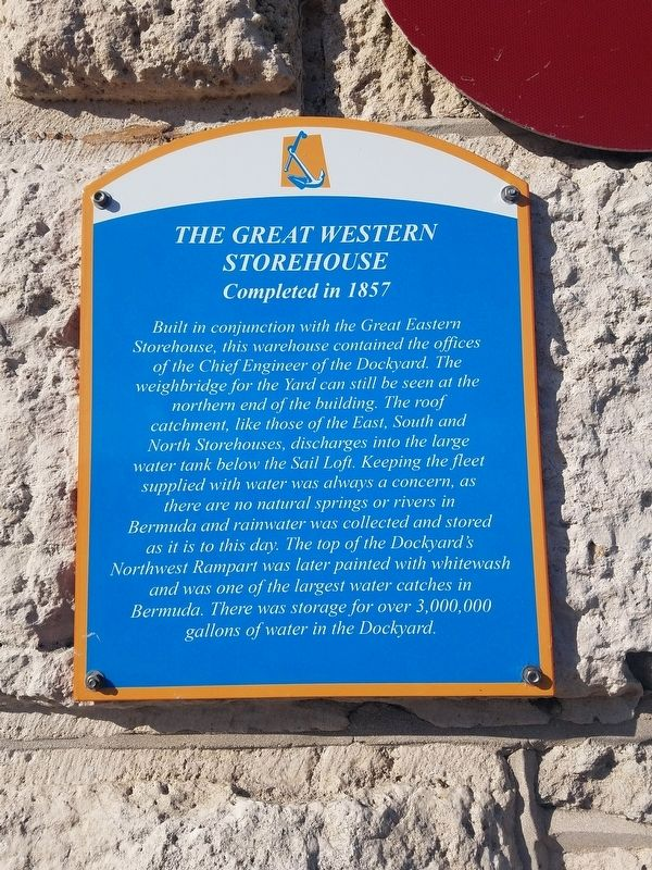 The Great Western Storehouse Marker image. Click for full size.