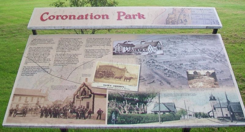 Coronation Park Marker image. Click for full size.