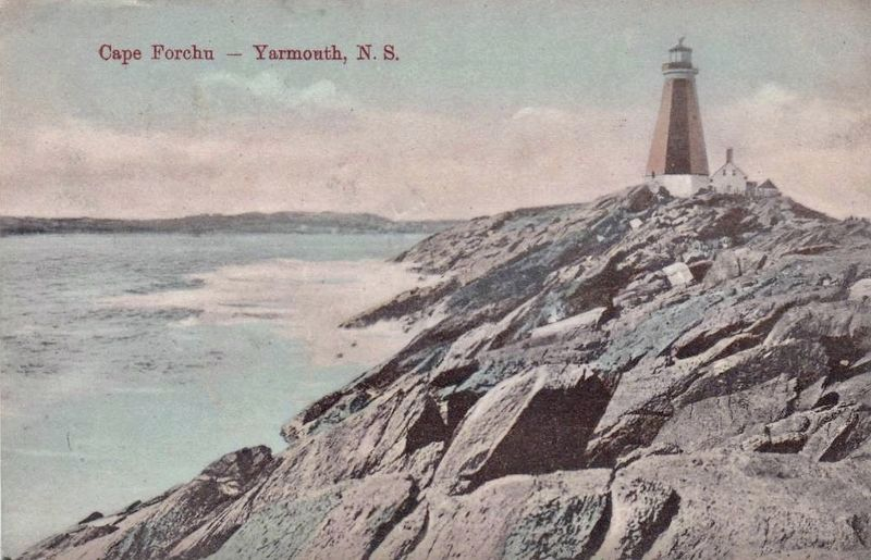 <i>Cape Forchu - Yarmouth, N.S.</i> image. Click for full size.