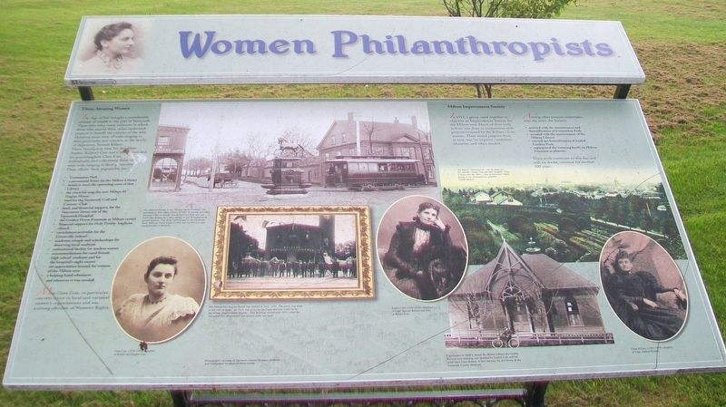 Women Philanthropists Marker image. Click for full size.