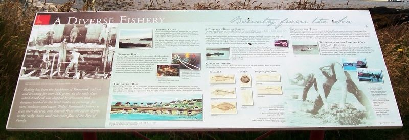 A Diverse Fishery Marker image. Click for full size.