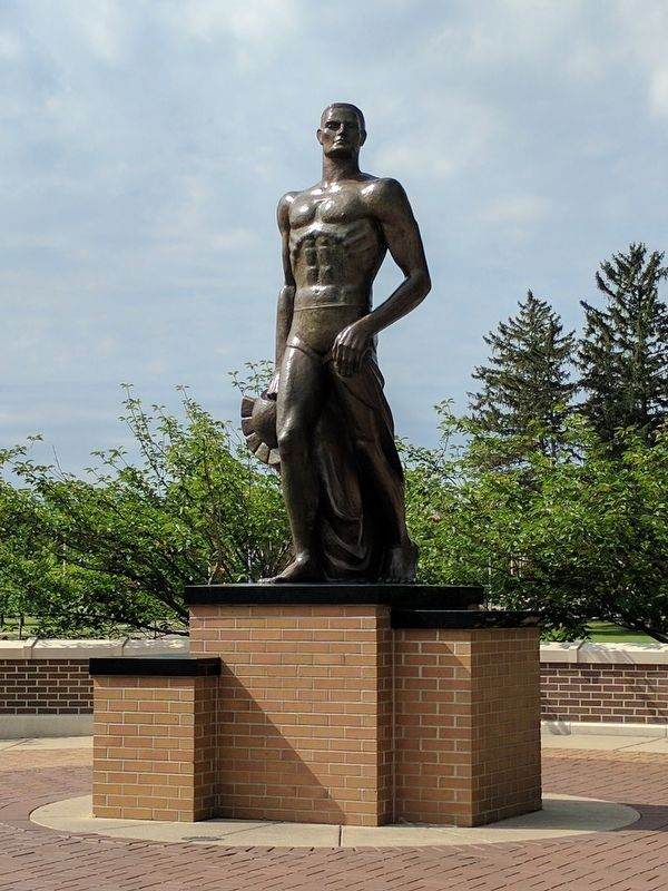 The Spartan Statue image. Click for full size.