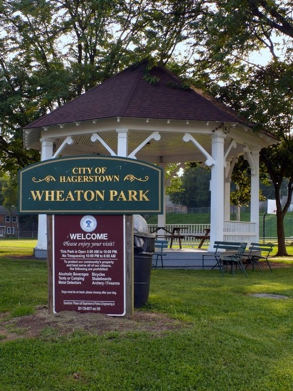 Wheaton Park image. Click for full size.
